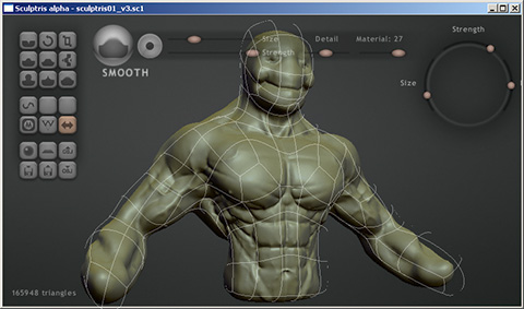 Sculptris - dynamic mesh tesselation - Page 4 - General